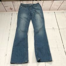 NWT $40 AEROPOSTALE CHELSEA MED WASH CURVY BOOTCUT JEANS size 17//18