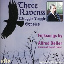 Alfred Deller, A. De - Three Ravens & the Wraggle-Taggle Gypsies [New CD]