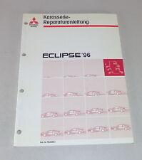 Taller de mano libro mitsubishi eclipse d 30 carrocería a partir del año de construcción 1996
