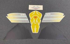 NEW GENUINE APRILIA RSV 1000 FLASHY YELLOW RACING 2003 TANK DECAL SET AP8177436