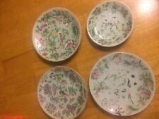 19c chinese porcelain  plates lot of 4 set