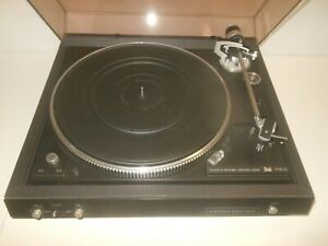 DUAL 714 Q ELECTRONIC DIRECT DRIVE TURNTABLE - PLATTENSPIELER QUARTZ PHASE