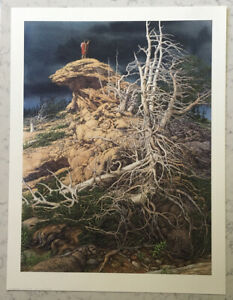 BEV DOOLITTLE SIGNED LIMITED EDITION PRINT PRAYER FOR THE WILD THINGS GREENWICH