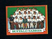 NMT 1973 Topps #94 Buffalo Sabres Team.