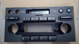 OEM Quality Acura Honda NSX Bose Radio Faceplate *** Discontinued ***
