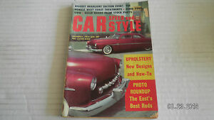 1959 JANUARY CAR SPEED & STYLE.. MAGAZINE.UPHOLSTERY, NEW DEGINS & HOW-TO