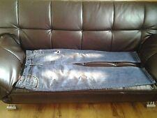 Zara  Original Blue Ripped Style Jeans 6 Pockets W34 X 45L