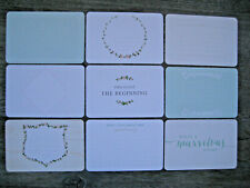 """'SOUTHERN WEDDING' PROJECT LIFE CARDS  -  pack of 9 - 6"""" x 4"""""""