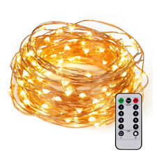 String Lights with Remote Control 8 Modes for Halloween Thanksgiving Christmas
