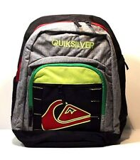QuickSilver Backpack New School,Color Black/Grey/Yellow (Kpwh), Style 4153040302