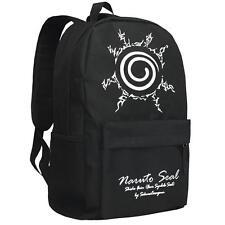 Bag Schoolbag Travel NEW Anime Naruto Cosplay Manga Messenger Shoulder Backpack
