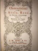 Atala, René, Le dernier Abencérage par Chateaubriand | London J M Dent & Co 1904
