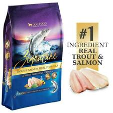 Zignature Trout & Salmon Meal Grain Free Dog Food (4lb) FREE SHIPPING
