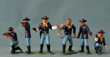 6 x 60 mm Vintage - Marx 7th U S Cavalry / Custer's, Dismounted troopers.