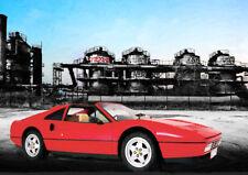 AUTOMOBILE ART-FERRARI 328 GTS-Limited Edition (25)