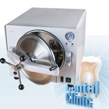 Dental Lab 18L Steam pressure Sterilizer Sterilizition Machine Dentist Device CE