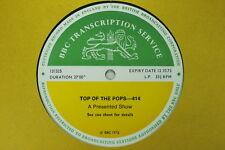 BBC 414 Transcription Disc TOP POPS Live DAVE BOWIE DAVID SWEET T REX MARC BOLAN