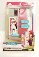 NIP MiWORLD PHOTO BOOTH & Charge Card JAKKS PACIFIC REAL WORLD MADE MINI Picture