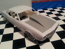 LEX'S SCALE MODELING Resin Outlaw Hood for '67 Camaro SS Revell 1/25. HOT!  NEW!