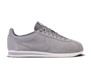 """NIKE CLASSIC CORTEZ LEATHER SE Trainers """"DUST"""" Suede OG UK Size 11 (EUR 46) Grey"""