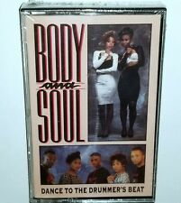 BODY & SOUL SEALED TAPE CASSETTE DANCE DRUMMER BEAT GO GO DELICIOUS VINYL RECORD