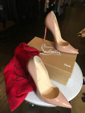 Christian Louboutin 41 Nude So Kate Patent Leather Pumps 1555-1-81218
