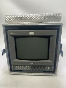 "Sony PVM 9L3 8"" Trinitron HR CRT monitor - Broadcast / gaming with flight case"