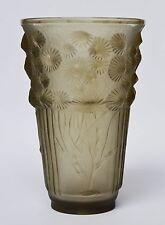 Marius Sabino France Glasvase Glas Vase Blumenvase Algues Marines Höhe 20 cm