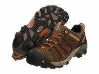 KEEN Mens Utility Flint Low Steel Toe Work Boot Shitake/Rust, 1007970