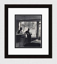 "Neat Wilhelm MAYWALD Antique 1930s Photogravure ""Auberge Ravoux Cafe"" Framed COA"