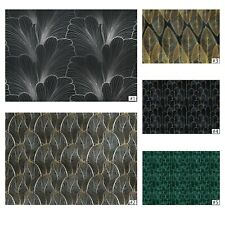 Art Deco Fototapete ORNAMENTE Tapete Vlies 3D Blätter Wohnzimmer Luxus Modern