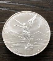 2012 Mexican Libertad 1 oz .999 Fine Silver BU