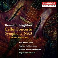 WALLFISCH:MACKIE:SCOT NO:THOMS - CELLO CONCERTO SYMPHONY NO.3 [CD]