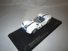 "Minichamps  Maserati Tipo 61 ""Nürburgring 1960""  (Gurney/Moss) 1:43 in Vitrine !"