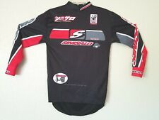 Vtg Youth SINISALO TECH  Racewear Graphic Jersey Tee Shirt Size L 12/14?? no tag