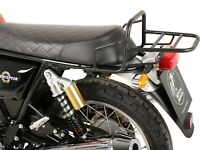 Royal Enfield 650 Interceptor (From 2018) Rear Rack - Black BY HEPCO AND BECKER
