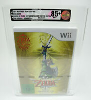 Nintendo Wii *Legend of Zelda: Skyward Sword* Neu / New / Sealed VGA 85+ NM+