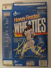 Empty WHEATIES Cereal Box 1996 KEN GRIFFEY JR Collector's HONEY FROSTED 14.75 oz