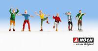 N escala 1:160 figuras modelismo maqueta trenes Noch 36871 Alpinistes Montanista