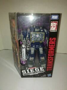 Transformers Siege Soundwave War For Cybertron MISB