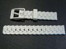Bracelets de montre blancs Lacoste