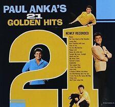Paul Anka - 21 Golden Hits [New CD]