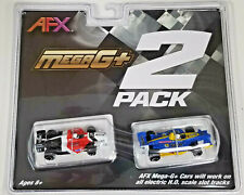 AFX 22017  - Mega G+ HO Formula Slot Car 2 Pack NEW RELEASE