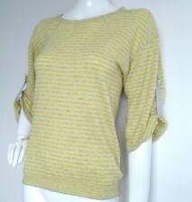 Designer REISS Hannu striped jumper size S --BRAND NEW-- 3/4Sleeves 100% Cotton