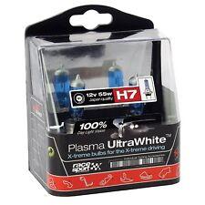 2 Pack Bulbs Set H7 Xenon Gas Plasma Ultra White Halogen Front Headlights Car