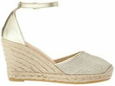 5baf33b67ecf New Listing L.K.Bennett Women s Gold Espadrille Wedge Soft Square Halle Size  36 US 5.5  245