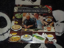 The Master Cooking Course Laserdisc Craig Claiborne Pierre Franey Free Ship $30