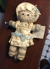 Vintage Applause Dolly Cats 1Small Plush Kitten
