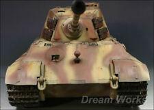 Award Winner Built Trumpeter Huge 1/16 KingTiger Heavy Tank +Full Interior+PE