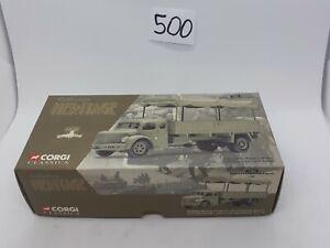 Corgi Heritage 73801 1:50 Ltd Ed Berliet GLR8 Military Truck